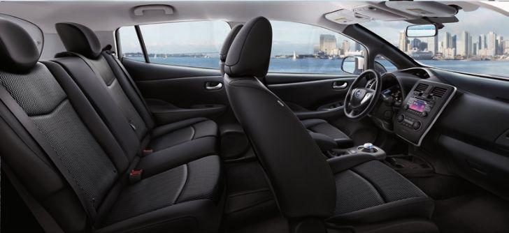 Nissan Leaf BLACK CLOTH