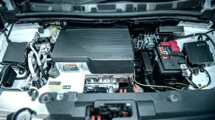 Engine Compartment Nissan Leaf 2018