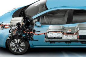Высоковольтные компоненты Nissan Leaf