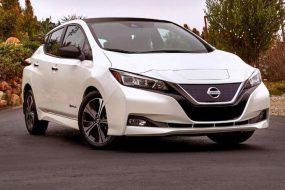 Характеристики Nissan Leaf 2018