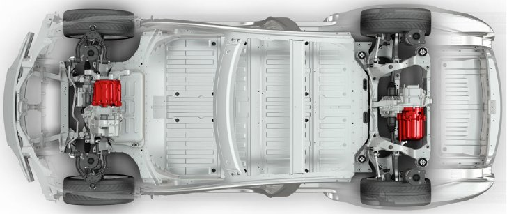 All-Wheel Drive Dual Motor Tesla Model S