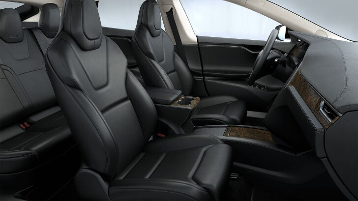 Black Premium - Light Headliner Tesla Model S