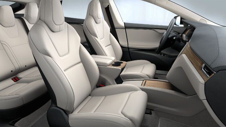 Cream Premium Tesla Model S
