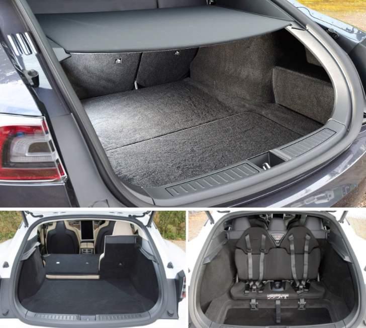 Luggage Space Tesla Model S