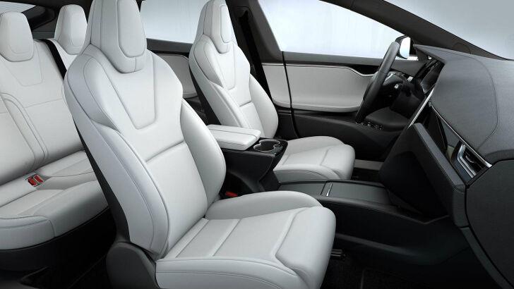 White Premium Tesla Model S