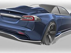 Tesla Model S Cabrio от Ares Design
