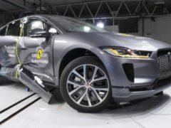 Безопасность Jaguar I-Pace — краш-тест
