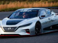 Nissan Leaf NISMO RC — видео — характеристики