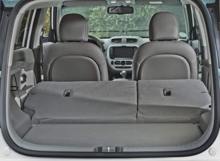 KIA Soul EV - багажник