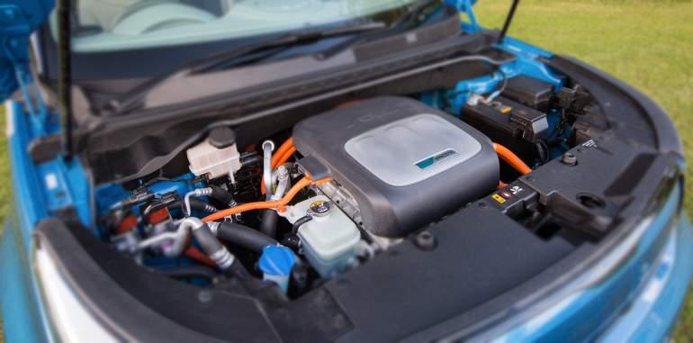 KIA Soul EV eco electric - электродвигатель